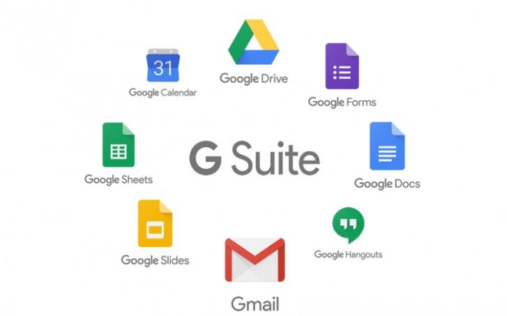 ฟีเจอร์ของ G Suite By Google Cloud